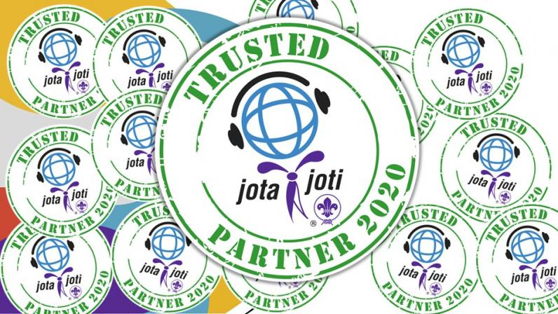 logo for 2020 JOTA-JOTI Trusted Partner Scheme