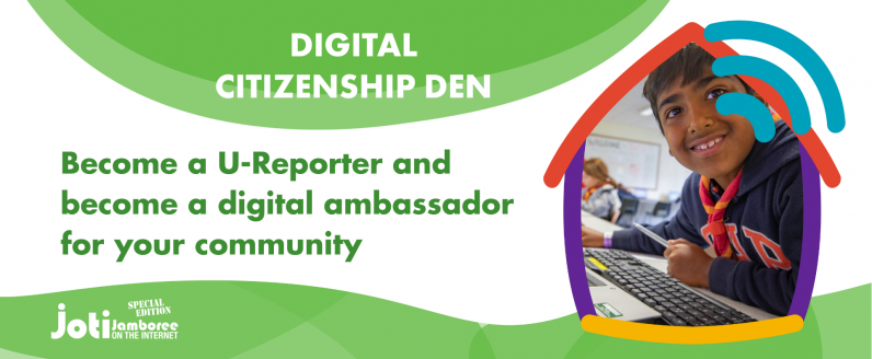 Become a U-Reporter and become a digital ambassador for your community