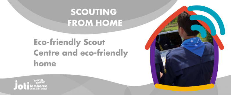 Eco-friendly Scout Centre and eco-friendly home