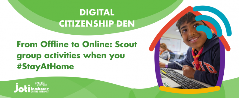 From Offline to Online: Scout group activities when you #StayAtHome